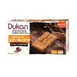 Biscuits de son d'avoine Nappés chocolat
